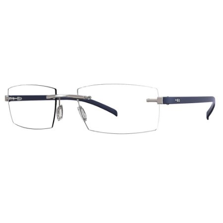 Óculos de Grau HB 93064 - Azul Fosco