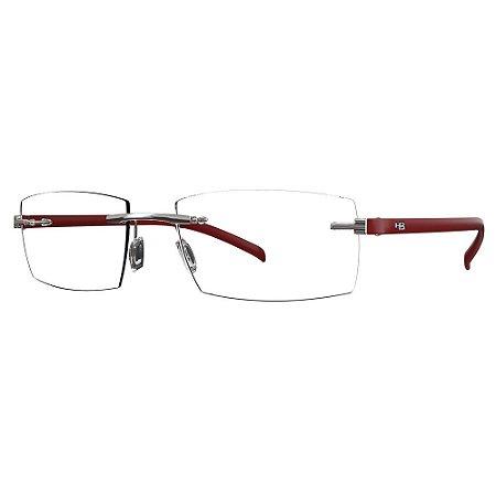 Óculos de Grau HB 93064 - Vermelho
