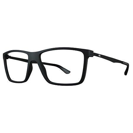 Óculos de Grau HB 93139 - Preto Fosco