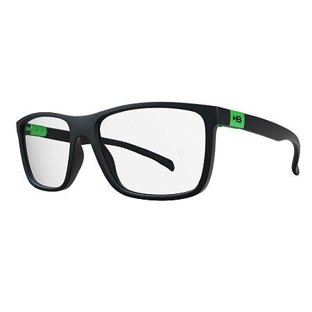 Óculos de Grau HB 93146 Teen - Preto / Verde