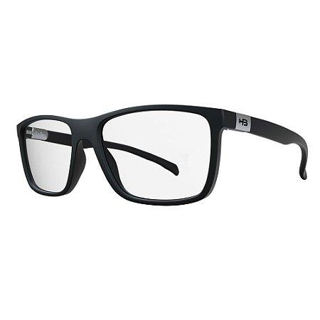 Óculos de Grau HB 93146 Teen - Preto Fosco