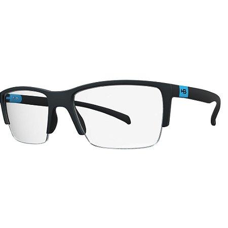 Óculos de Grau HB 93155 - Preto / Azul