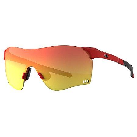 Óculos de Sol HB Quad F - Vermelho / Preto