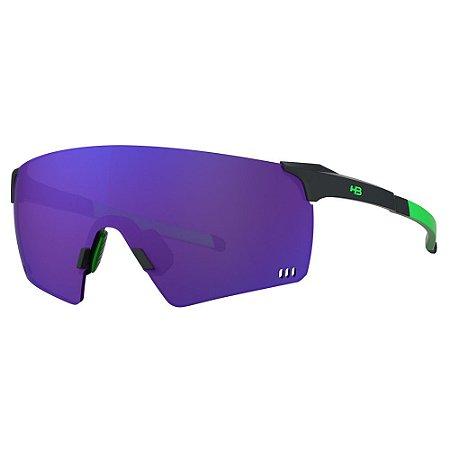 Óculos de Sol HB Quad R - Preto / Verde