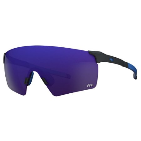 Óculos de Sol HB Quad R - Preto / Azul