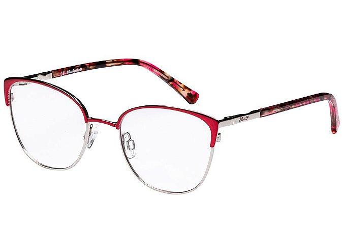 Óculos de Grau Lilica Ripilica VLR115C06/48 Vermelho/Prata/Tartaruga