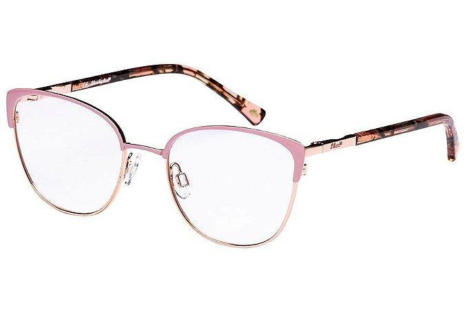 Óculos de Grau Lilica Ripilica VLR115C03/48 Rose/Dourado/Tartaruga