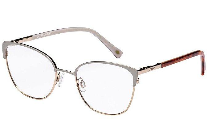 Óculos de Grau Lilica Ripilica VLR115C02/48 Cinza/Dourado/Tartaruga