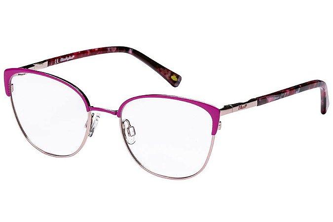 Óculos de Grau Lilica Ripilica VLR115C01/48 Rosa/Dourado/Tartaruga
