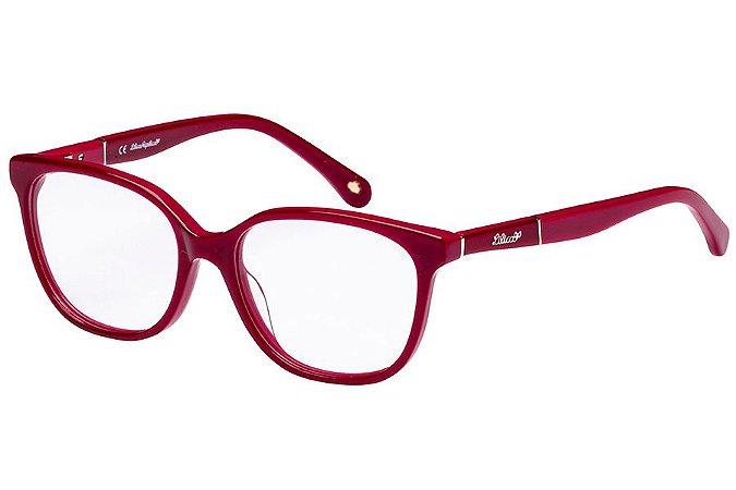 Óculos de Grau Lilica Ripilica VLR114C01/49 Vermelho