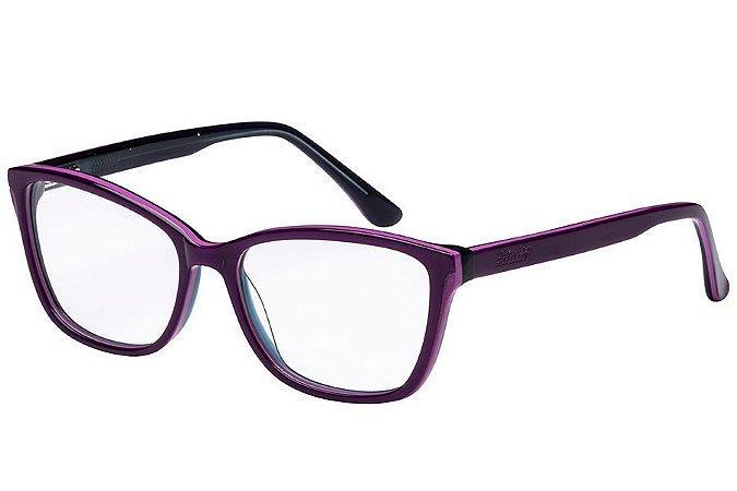 Óculos de Grau Lilica Ripilica VLR111 C02/50 Roxo