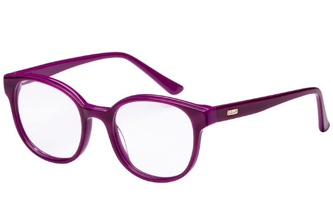 Óculos de Grau Lilica Ripilica VLR110 C03/47 Roxo