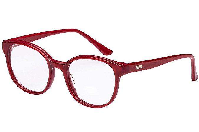 Óculos de Grau Lilica Ripilica VLR110 C02/47 Vermelho