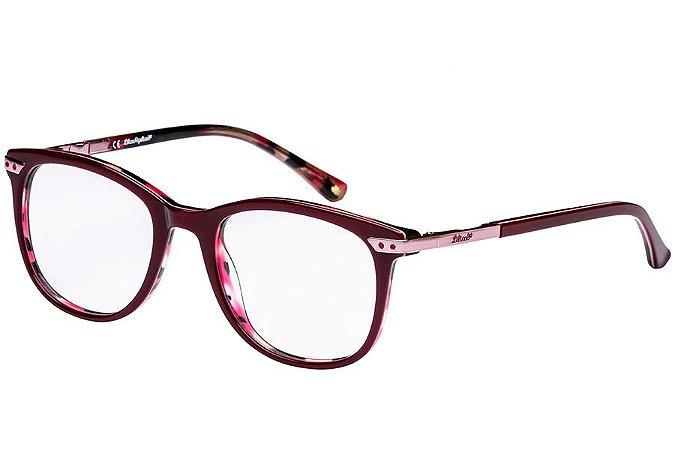 Óculos de Grau Lilica Ripilica VLR107 C01/48 Vinho/Tartaruga