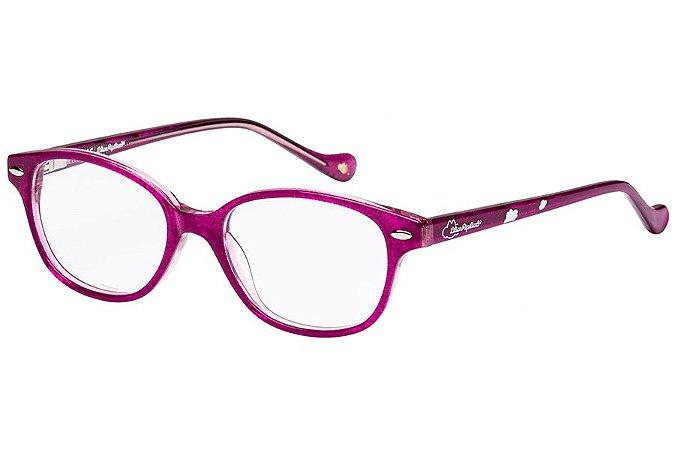 Óculos de Grau Lilica Ripilica VLR106 C04/45 Rosa Transparente
