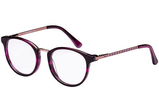 Óculos de Grau Lilica Ripilica VLR103 C04/47 Roxo