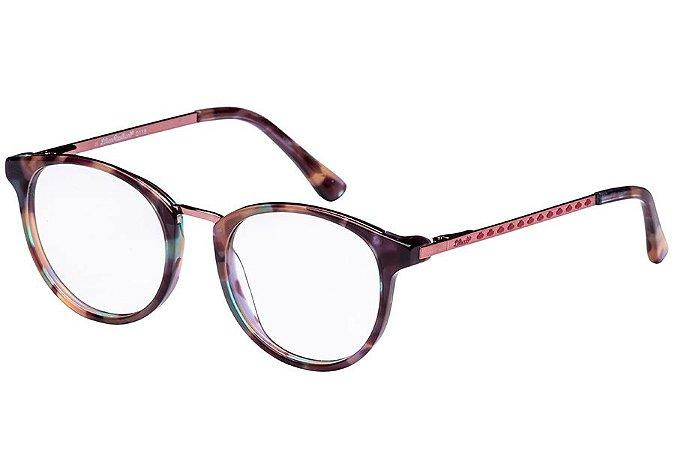 Óculos de Grau Lilica Ripilica VLR103 C01/47 Tartaruga Roxo