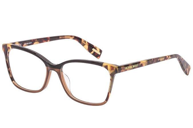Óculos de Grau Victor Hugo VH1785 839/54 Marrom/Tartaruga