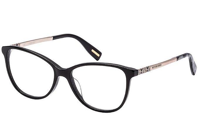 Óculos de Grau Victor Hugo VH1773S 700/54 Preto/Dourado