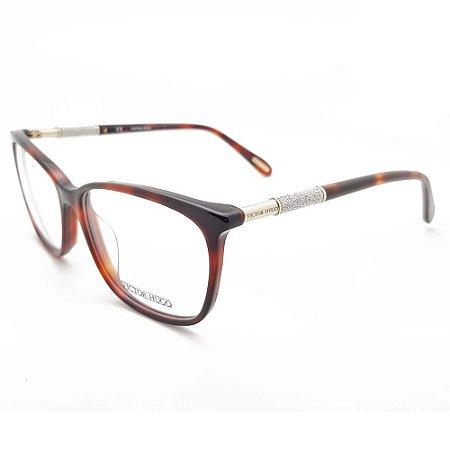 Óculos de Grau Victor Hugo VH1770 09AT/53 Marrom