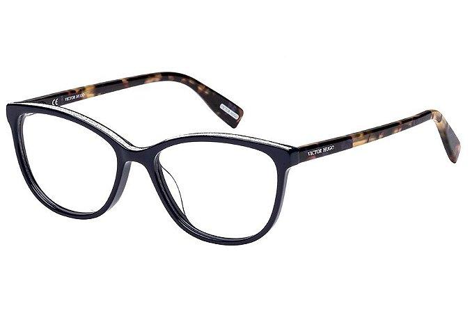 Óculos de Grau Victor Hugo VH1769 0D82/53 Azul/Tartaruga