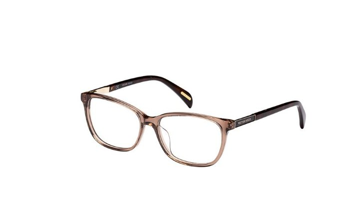 Óculos de Grau Victor Hugo VH1759 0D57/53 Marrom Transparente