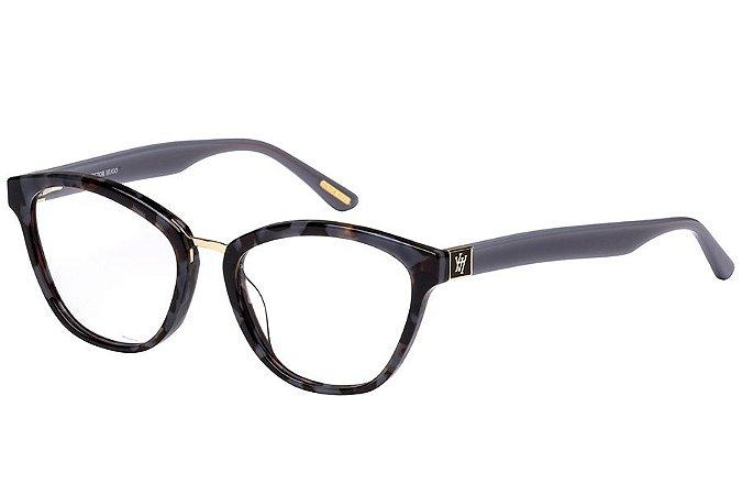 Óculos de Grau Victor Hugo VH1755 01GR/52 Tartaruga Cinza