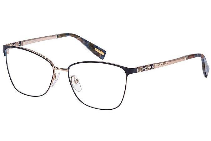 Óculos de Grau Victor Hugo VH1263S 0E59/55 Azul