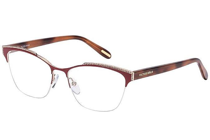 Óculos de Grau Victor Hugo VH1262S 0E59/53 Vermelho