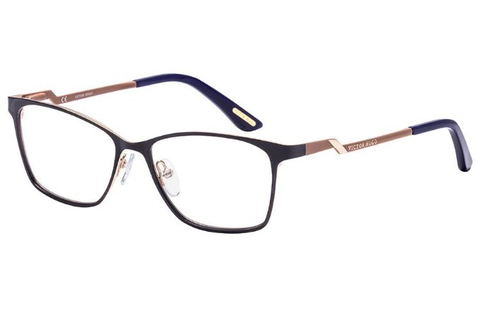 Óculos de Grau Victor Hugo VH1260 354/53 Azul/Nude