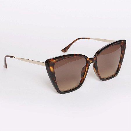 Óculos de Sol Atitude AT5430G21/57 - Marrom