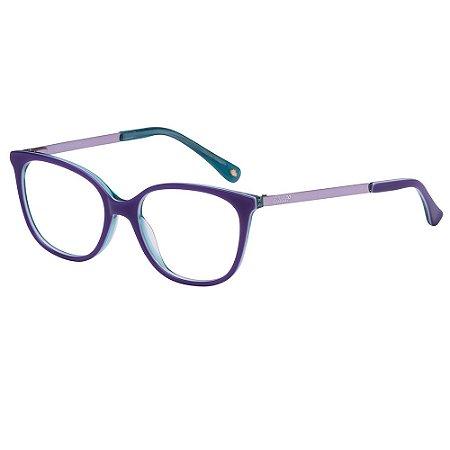 Óculos de Grau Lilica Ripilica VLR135 C02/47 Azul