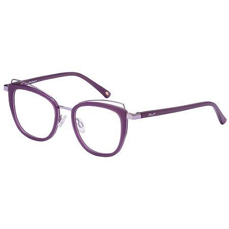 Óculos de Grau Lilica Ripilica VLR133 C04/47 Roxo
