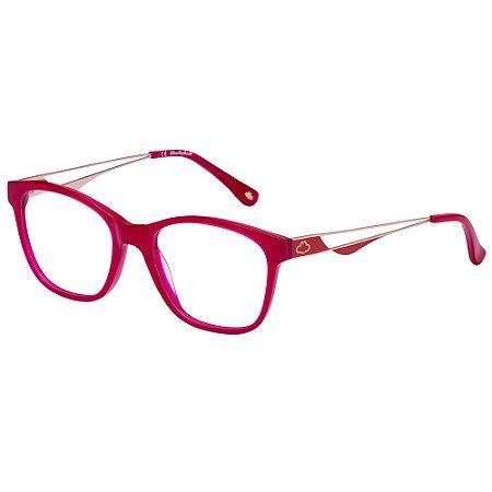 Óculos de Grau Lilica Ripilica VLR132 C01/49 Vermelho