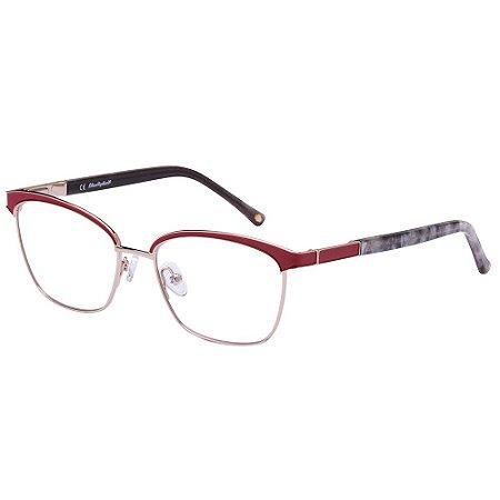 Óculos de Grau Lilica Ripilica VLR131 C05/50 Vermelho