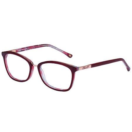 Óculos de Grau Lilica Ripilica VLR127 C04/49 Vermelho