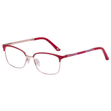 Óculos de Grau Lilica Ripilica VLR126 C02/48 Vermelho