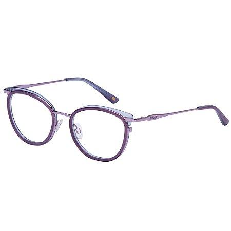 Óculos de Grau Lilica Ripilica VLR125 C07/48 Roxo