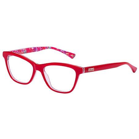 Óculos de Grau Lilica Ripilica VLR123 C05/49 Vermelho