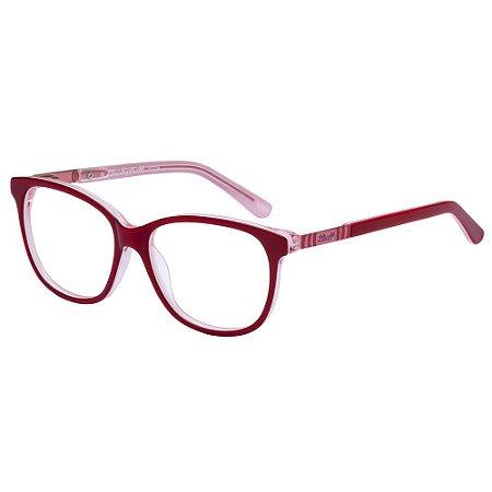 Óculos de Grau Lilica Ripilica VLR121 C3/48 Vermelho