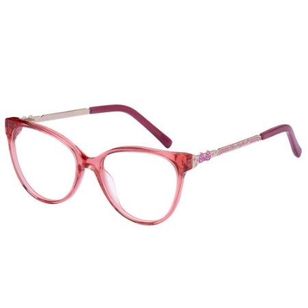 Óculos de Grau Lilica Ripilica VLR120 C3/50 Vermelho