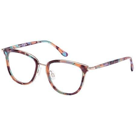 Óculos de Grau Lilica Ripilica VLR112 C01/48 Marrom