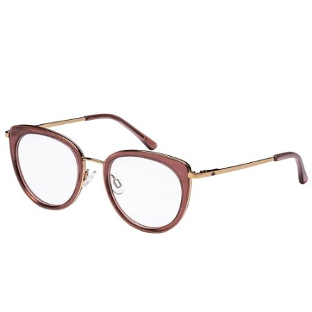 Óculos de Grau Lilica Ripilica VLR109 C04/47 Marrom