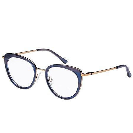 Óculos de Grau Lilica Ripilica VLR109 C02/47 Azul