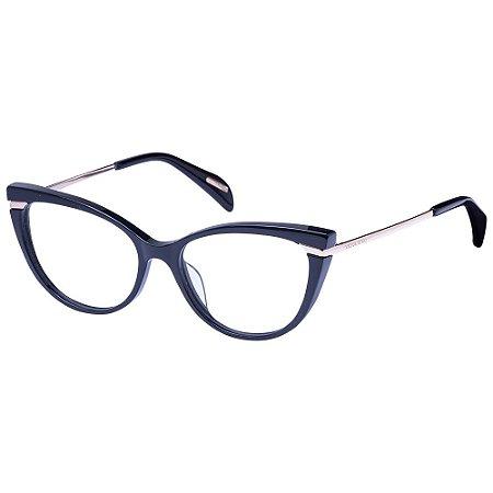 Óculos de Grau Victor Hugo VH1808 0700/53 Preto