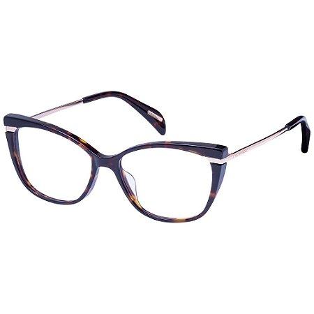 Óculos de Grau Victor Hugo VH1807 0790/53 Tartaruga