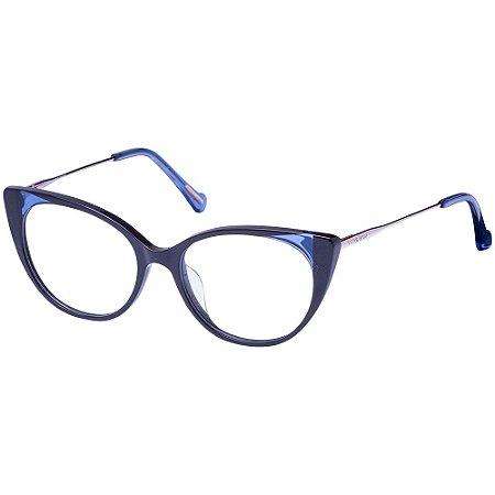Óculos de Grau Victor Hugo VH1802 0J58/51 Azul