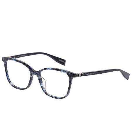 Óculos de Grau Victor Hugo VH1793S 0P65/53 Azul