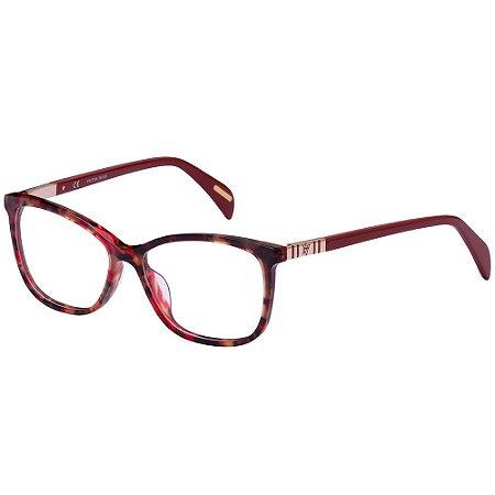 Óculos de Grau Victor Hugo VH1786 0897/53 Vermelho