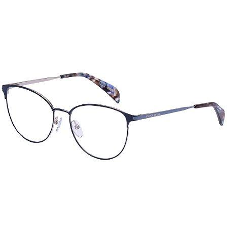 Óculos de Grau Victor Hugo VH1274 0E70/53 Azul